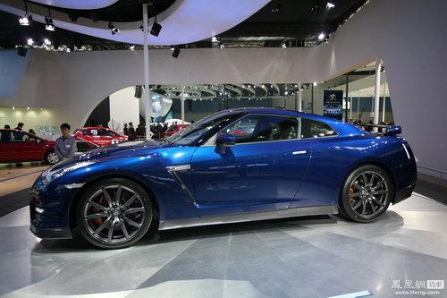 2012款日产GT-R亮相广州车展 官方售价150.5万