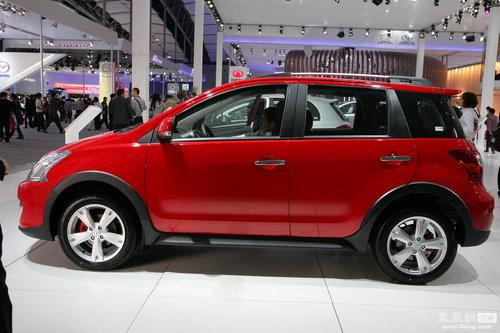2011款长城炫丽Cross亮相广州车展 明年6月上市
