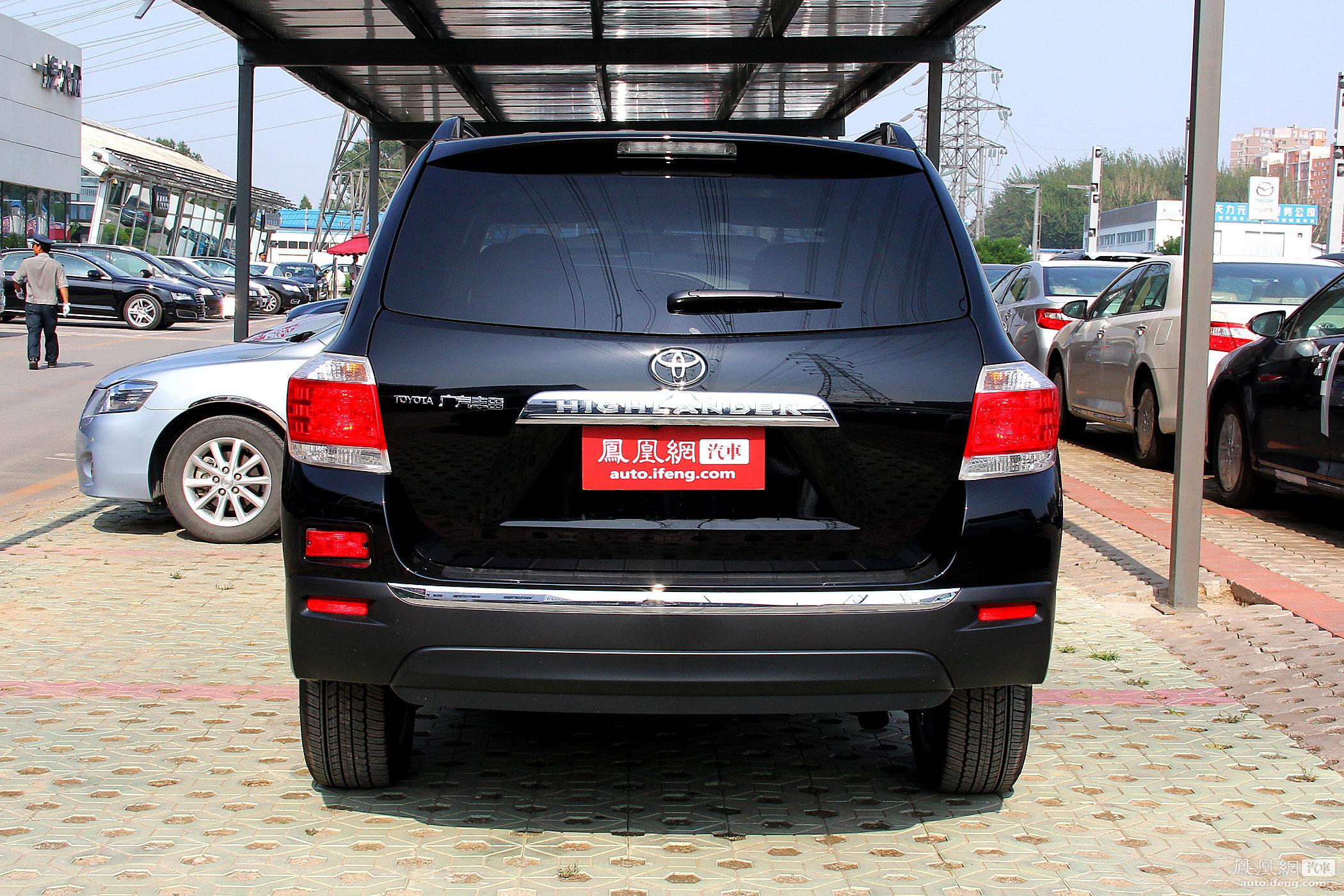 2012款 丰田汉兰达 两驱至尊版 30万内7座中型城市su 高清图片
