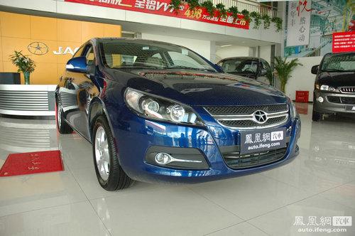 江淮和悦2011款杭州车展发布 售7.18-8.18万元