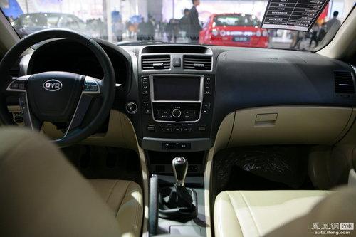 比亚迪G6亮相广州车展 明年上市预售10-15万元