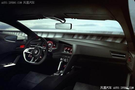 大众发布高尔夫gti概念车 高达503马力高清图片