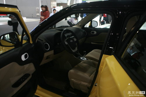 上汽全新MG3现身广州车展 明年4月份公布价格