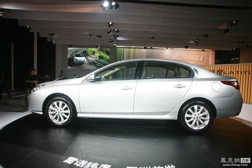 雷诺纬度广州车展首次亮相 进军主流中级车市场