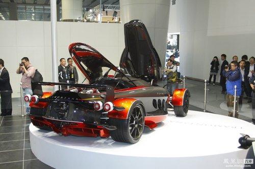 三款超级跑车广州车展上市 西班牙特纳蒙塔纳领衔