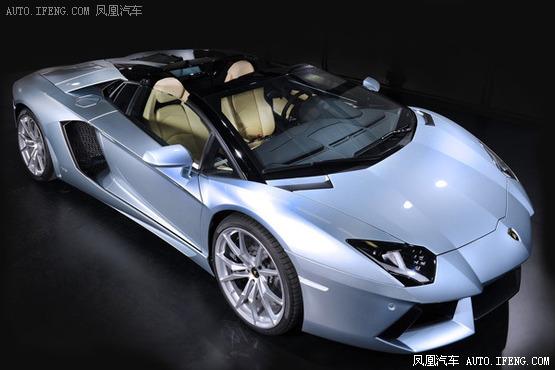 兰博基尼推敞篷版跑车 将重点开发中国市场高清图片