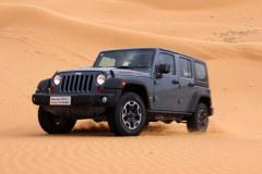 沙漠试驾Jeep牧马人Rubicon 真的很能玩