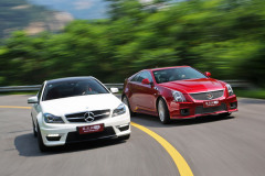 C63 AMG Coupe对比CTS-V Coupe 致青春