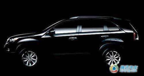 起亚将发布新款索兰托SUV高清图片