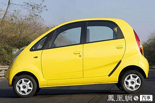 最便宜汽车塔塔Nano上市 售价不足2千美元高清图片