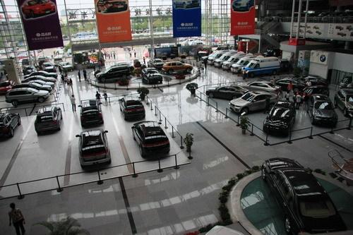谁的汽车超市 探秘天津港保税区高清图片