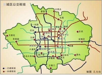 北京六环地图全图大图