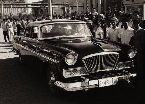 中国第一辆红旗轿车高清图片