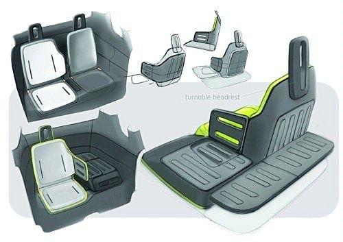 2m,将采用电动机驱动,是一款零排放的城市环保小车.