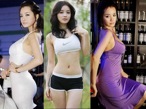 韩国第一美女车模成长记
