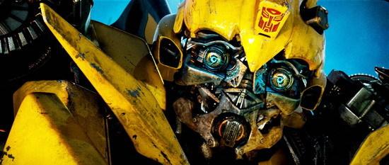 """《变形金刚2》中的""""大黄蜂""""高清图片"""
