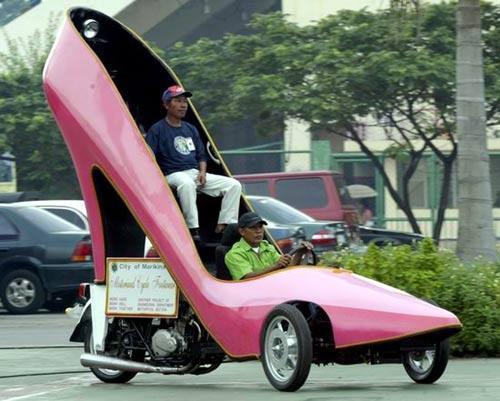 车_世上最酷的幽默鞋车