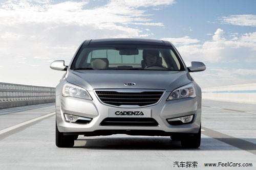 明年6月引入 起亚全新Cadenza韩国发布高清图片