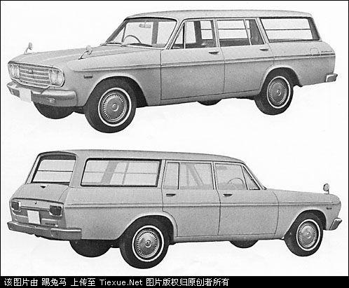 01)   1967年9月推出的第三代皇冠s50系列首次添加了两门敞篷车,这一