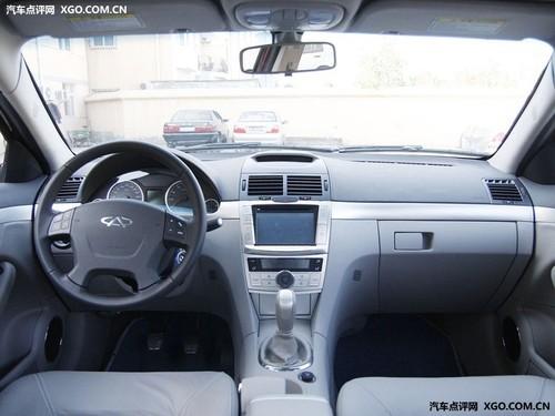 两款2.0T车型 奇瑞瑞麒G5今日即将上市高清图片
