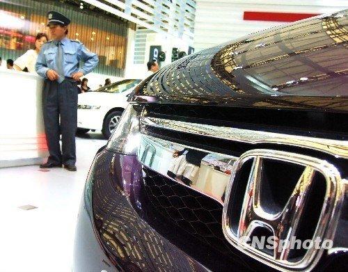 本田因安全气囊隐患在美国召回逾37万辆车高清图片