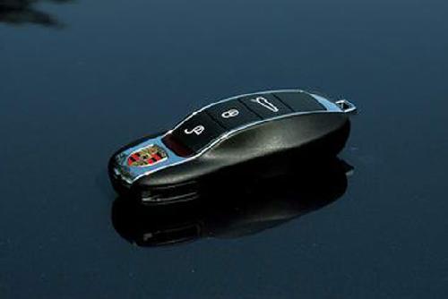 保时捷panamera钥匙高清图片