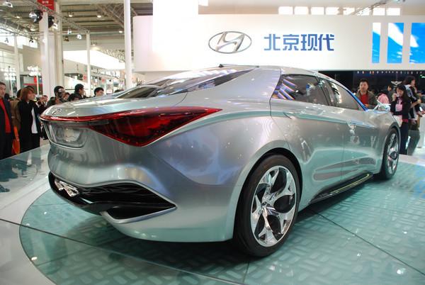 北京国际车展迎来现代汽车视觉冲击波