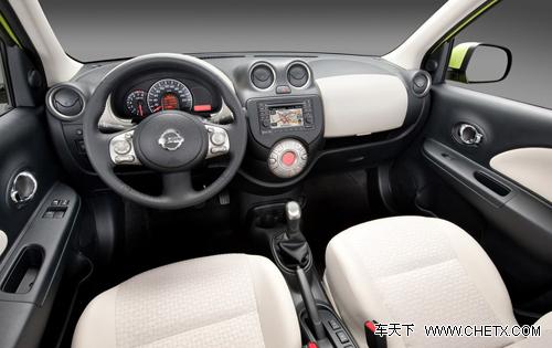 东风日产玛驰内饰   即将上市的玛驰将会采用一款1.5l的hr高清图片