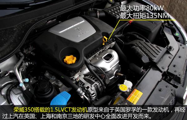 荣威350的发动机怎么样 数字化城市 试驾荣威350高清图片