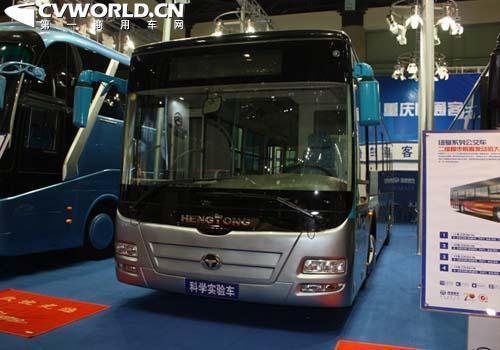 恒通并联式混合动力公交车