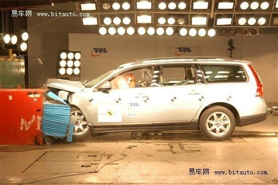 NCAP 沃尔沃V70安全碰撞测试报告详解高清图片