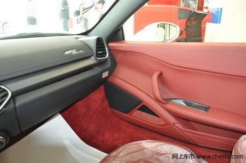 省内首台法拉利458 italia 抵达青岛欧利行 高清图片
