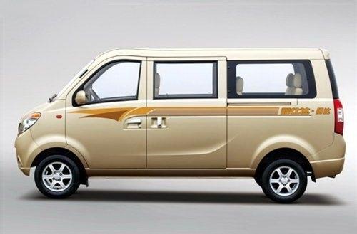 海马福仕达腾达微型客车9月6日上市 空间增大高清图片