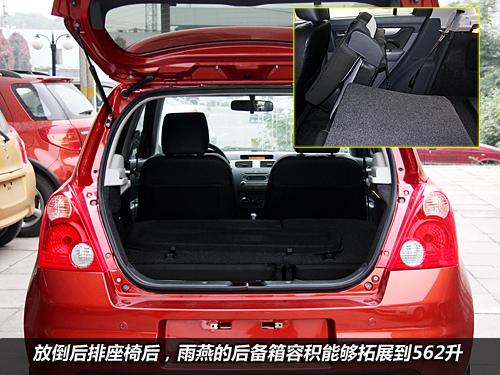 各取所需 2011款雨燕全系车型配置推荐高清图片
