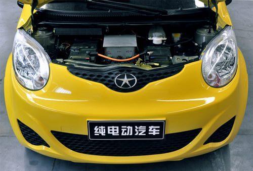江淮纯电动轿车-第219期新车目录热点车解析 纯电动车首次现身高清图片