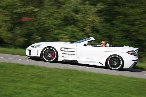 奔驰新款超跑slm合成图曝光 欲与r8叫板