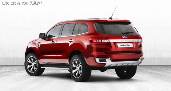 福特新中型SUV概念车官图 或引入国产高清图片