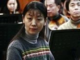 胡琴演奏家姜克美排练