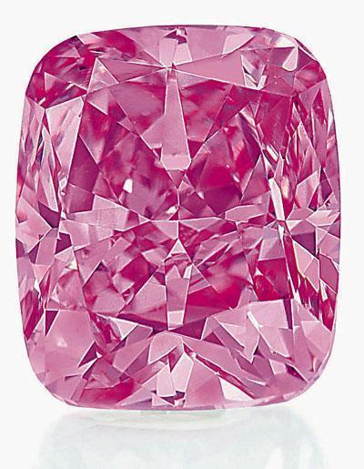 绝世粉钻将现身香港 料每克拉拍卖价过千万