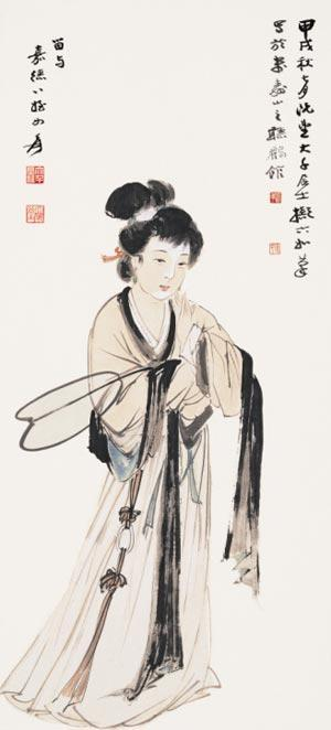 海派书画首次引领上海艺博会