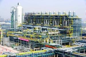 中国石化镇海炼化补上短腿 百万吨乙烯工程投产