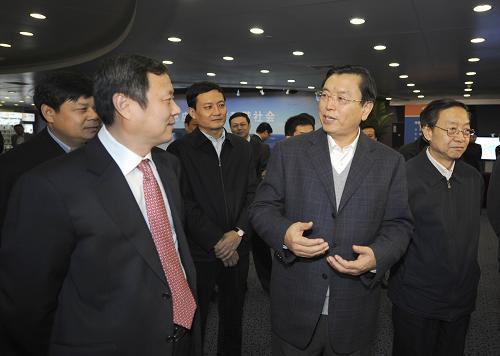张德江强调:加快3G发展 做大做强TD产业