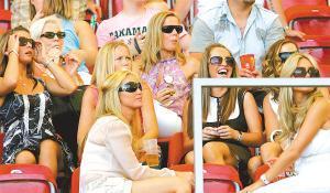 英太太团看世界杯预算超百万