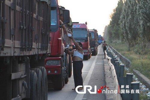 京藏高速持续堵车