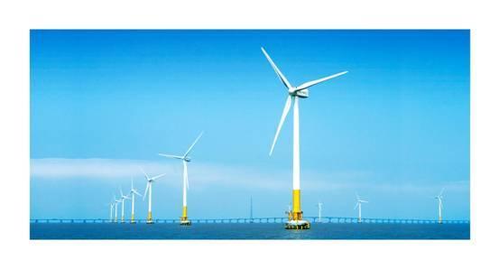 上海东海大桥10万千瓦海上风电示范项目