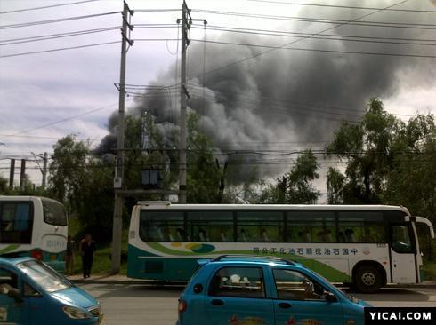 消息称中石油抚顺石化三厂发生爆炸