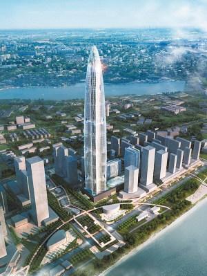 武汉开建全球第三高楼 高606米投资逾300亿