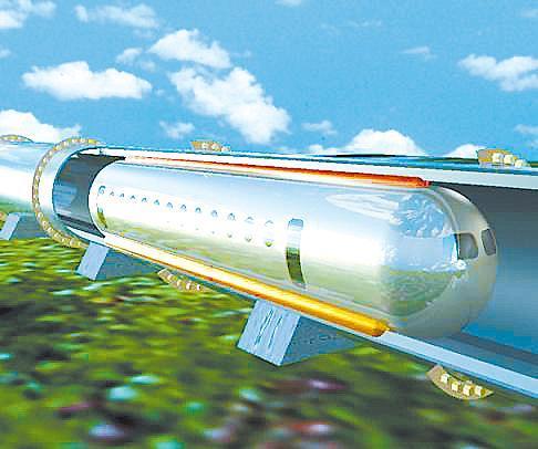 西南交大研发真空磁悬浮列车时速最高1000公里(图)