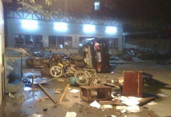 增城:不法分子两度聚集袭警