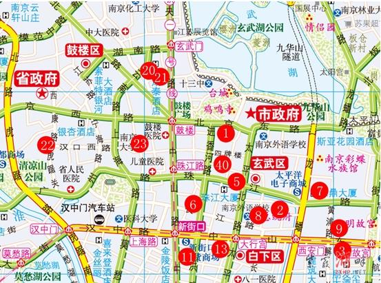 南理工学生 绘制出南京市首幅红色电子地图